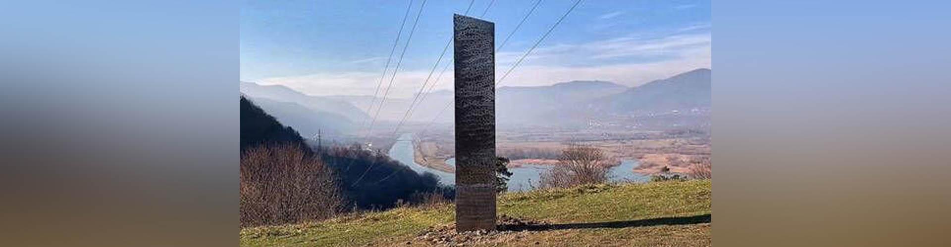 Hallan otro monolito metálico similar al de Utah en Rumanía