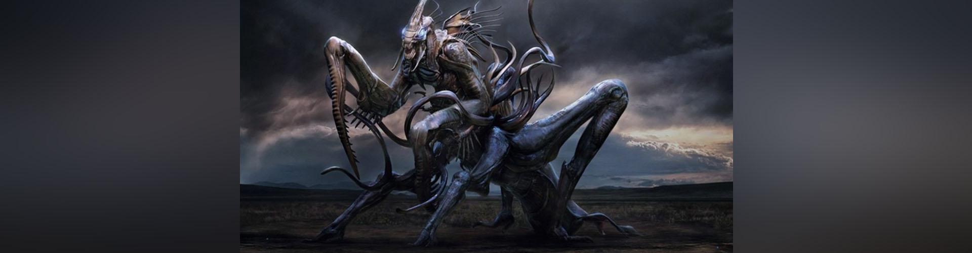 """(VIDEO) El alucinante """"contacto"""" entre un político inglés y alienígenas tipo mantis"""