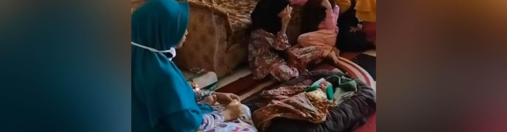 (VIDEO) Una mujer en Indonesia afirma que una ráfaga de viento la embarazó