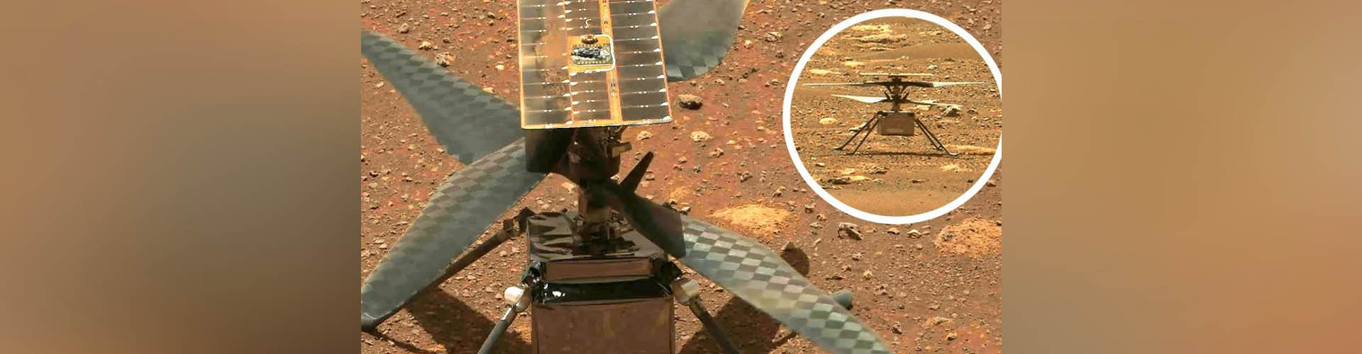 (VIDEO)  Un día histórico: el helicóptero Ingenuity logra volar en Marte