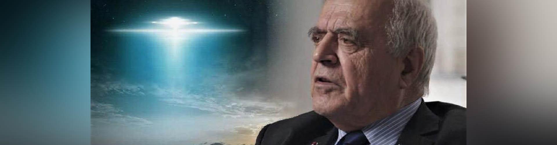 """(VIDEO)  Ex agente de inteligencia francés: """"Los OVNIs vienen de mundos paralelos"""""""