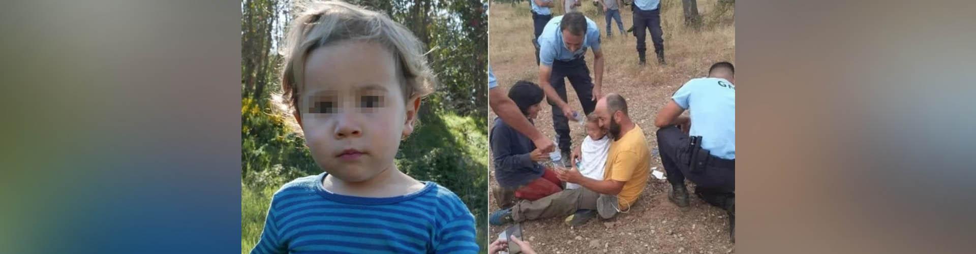 Todavía no hay explicación: Niño de 2 años apareció en un bosque