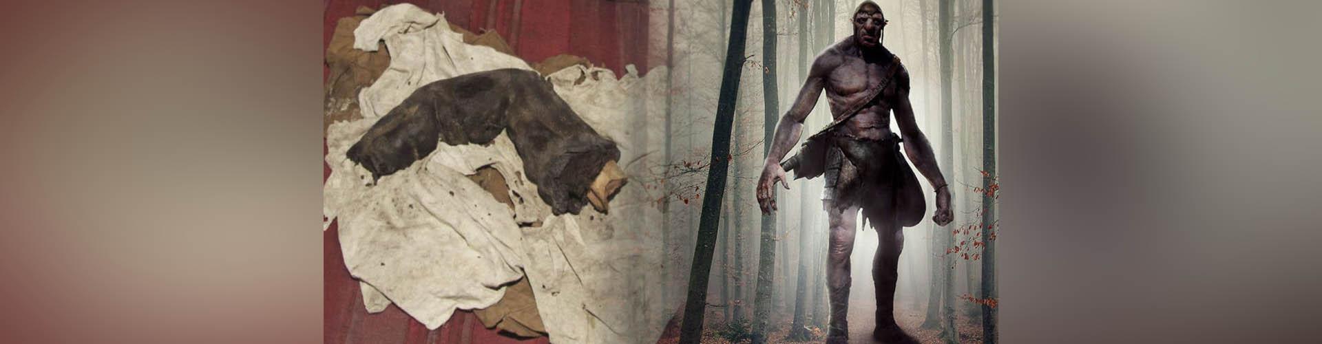 """(VIDEO)  ¿Gigantes en el Antiguo Egipto? Un """"dedo momificado"""" podría confirmarlo"""